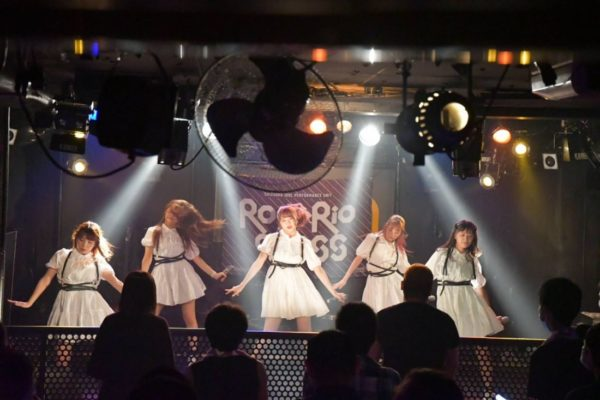 ROSARIO+CROSSのライブ写真